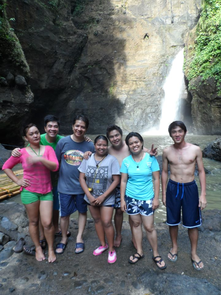 Our group at Cavinti Falls