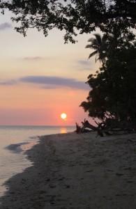 Potipot Beach Sunset