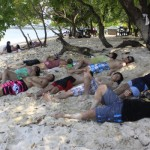 Sleeping in Potipot Island