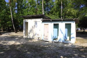 Toilet and shower rooms in Potipot Island