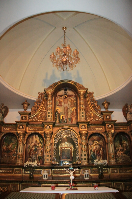 Altar at the Chapel of Our Lady of Turumba, St. Peter of Alcantara Church