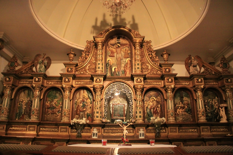 Altar at the Chapel of Our Lady of Turumba