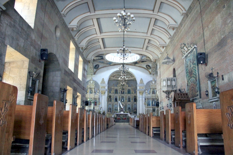 Inside St. Peter Alcantara Parish