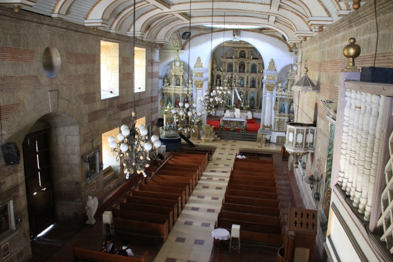 Interior of St.Peter of Alcantara Parish Church