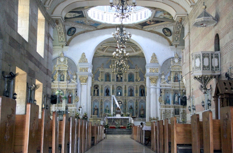 Interior of St. Peter of Alcantara Church