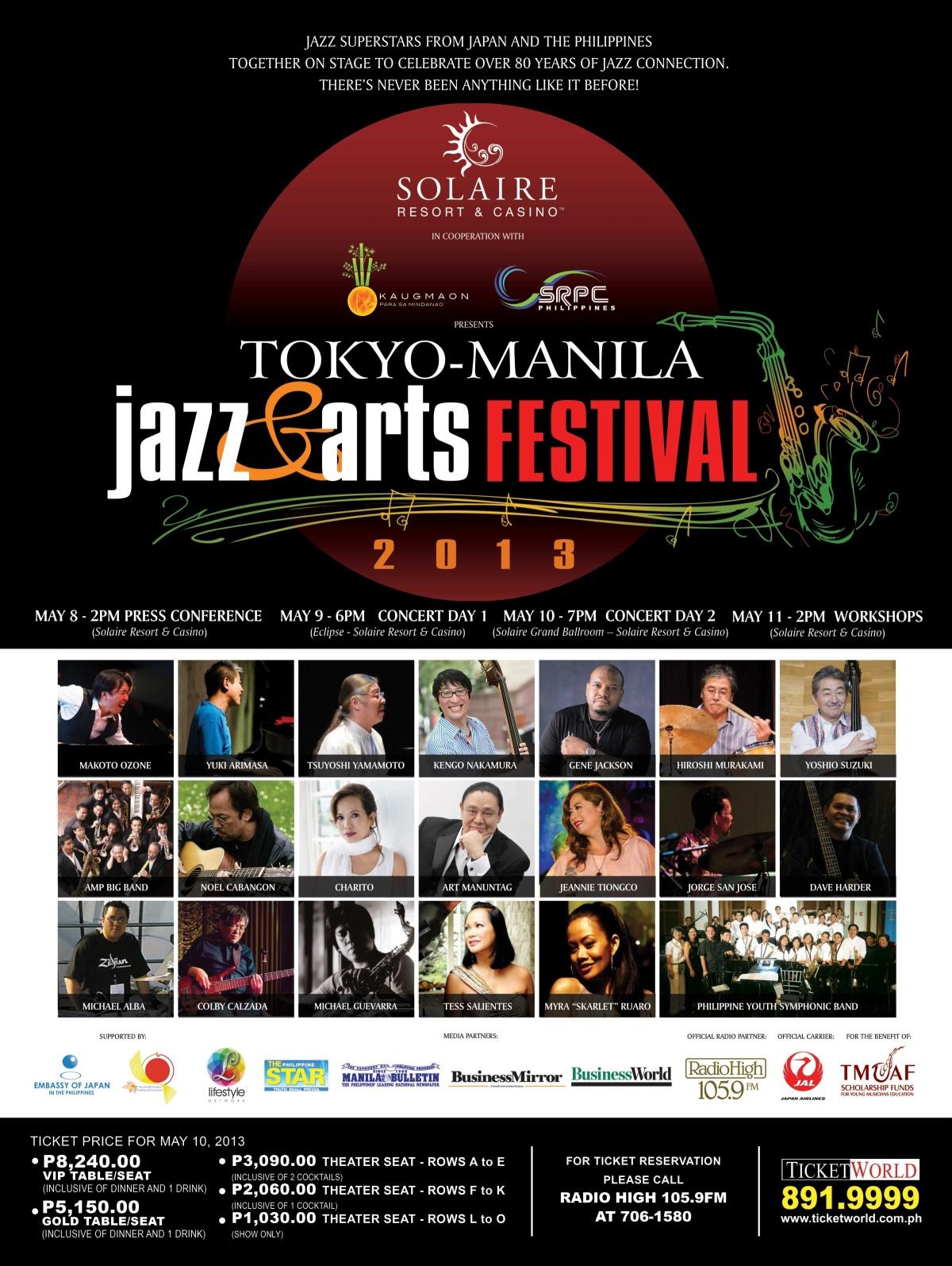Tokyo-Manila Jazz & Arts Festival 2013