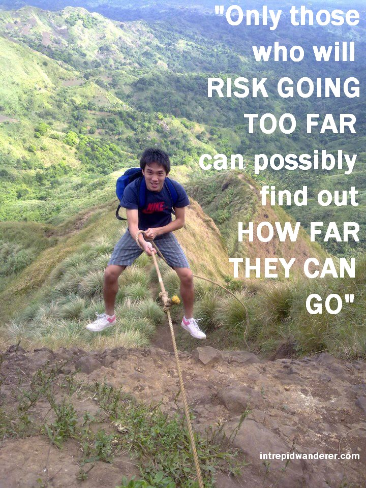 Only those who will risk going too far can possibly find out how far they can go