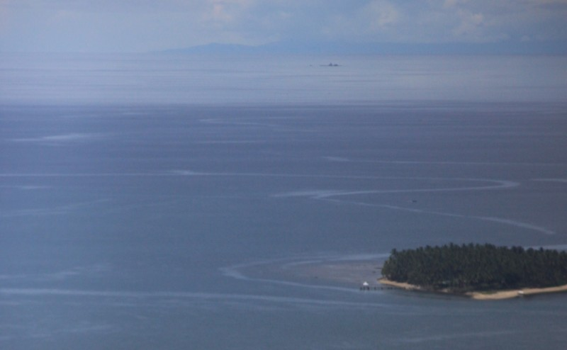 Diyo Island as seen from above