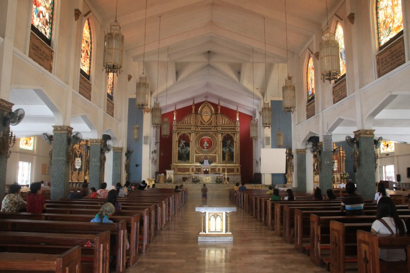 Interior of Santo Niño Church