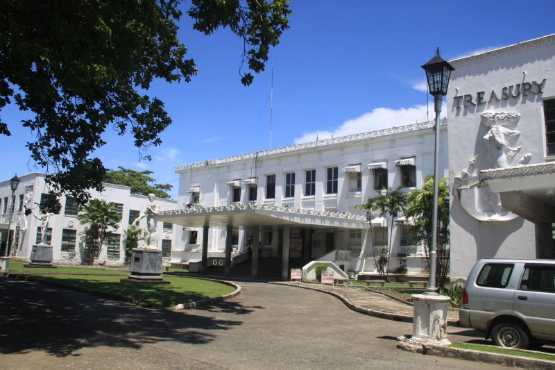 The back of Leyte Provincial Capitol
