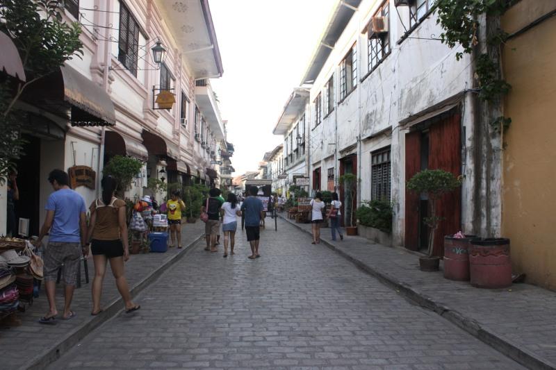 Calle Crisologo - Cobblestone street in Vigan