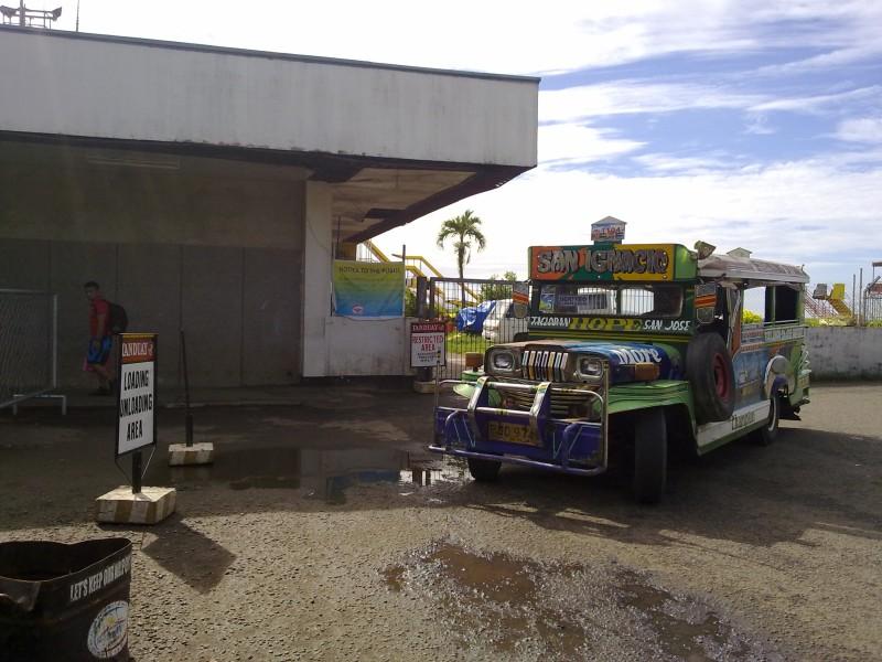 Daniel Romualdez Airport Jeepney