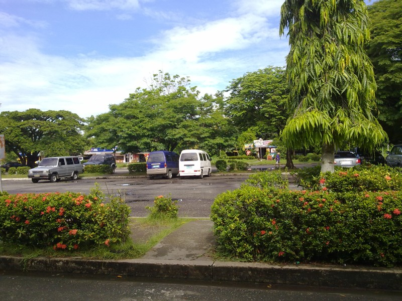 Daniel Romualdez Airport Parking Area