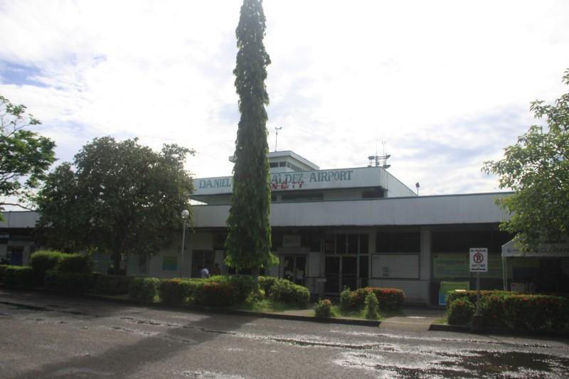 Daniel Z. Romualdez Airport Terminal Departure Area