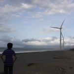 First time at Bangui Wind Farm