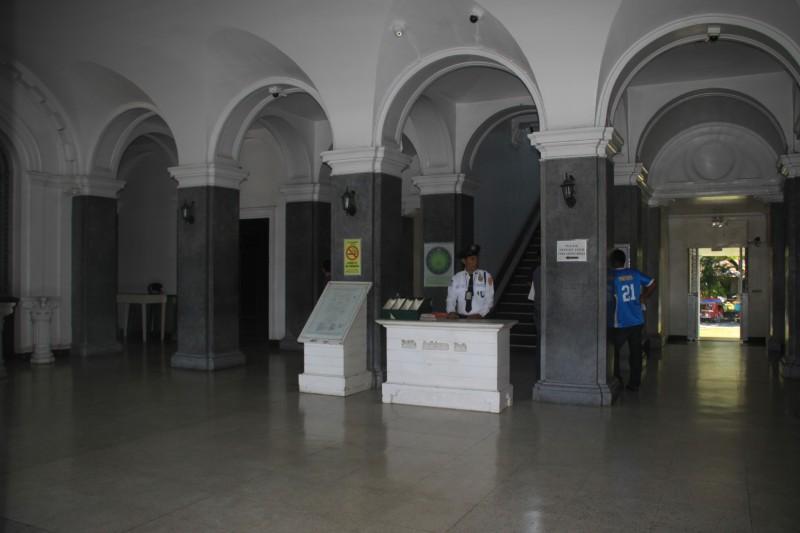 Inside Leyte Provincial Capitol