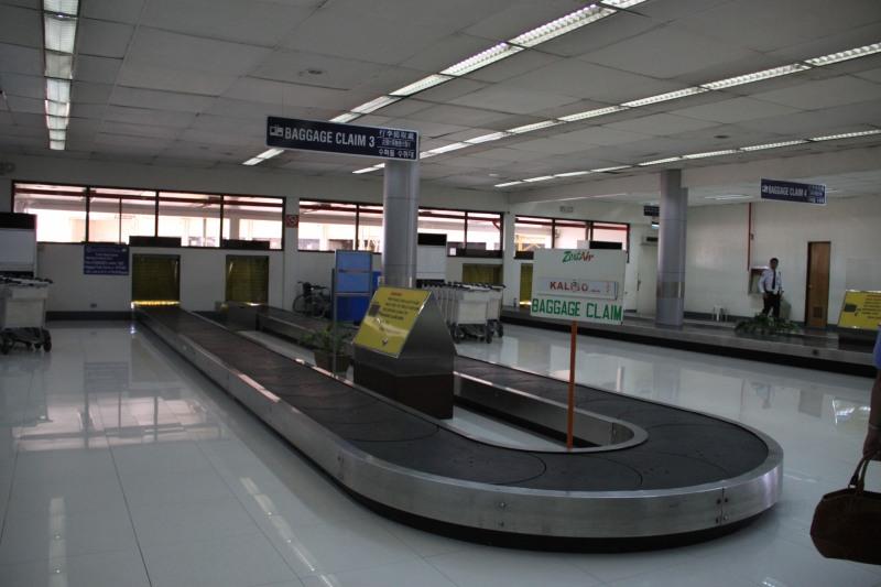 Manila Domestic Passenger Terminal Baggage Carousel
