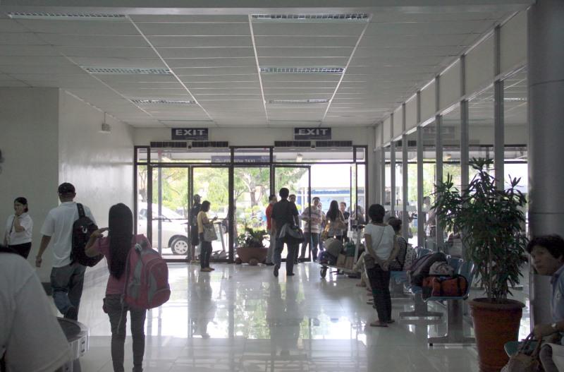 Manila Domestic Passenger Terminal Exit