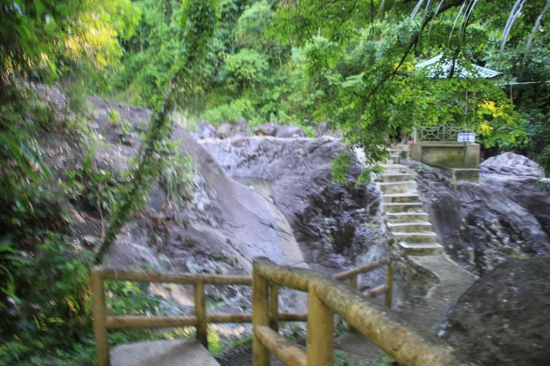 Tinago Falls Concrete Stairs