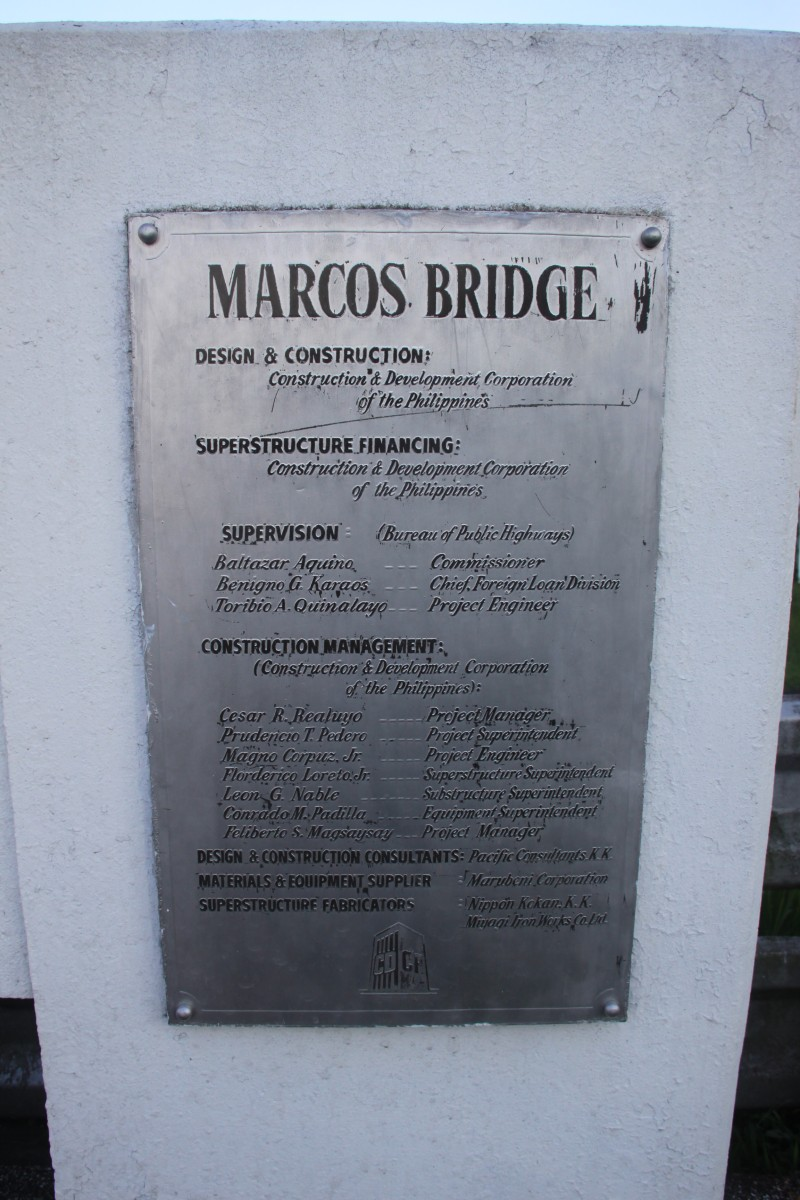 Marcos Bridge Marker