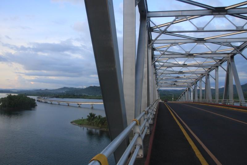 San Juanico Bridge and San Juanico Strait