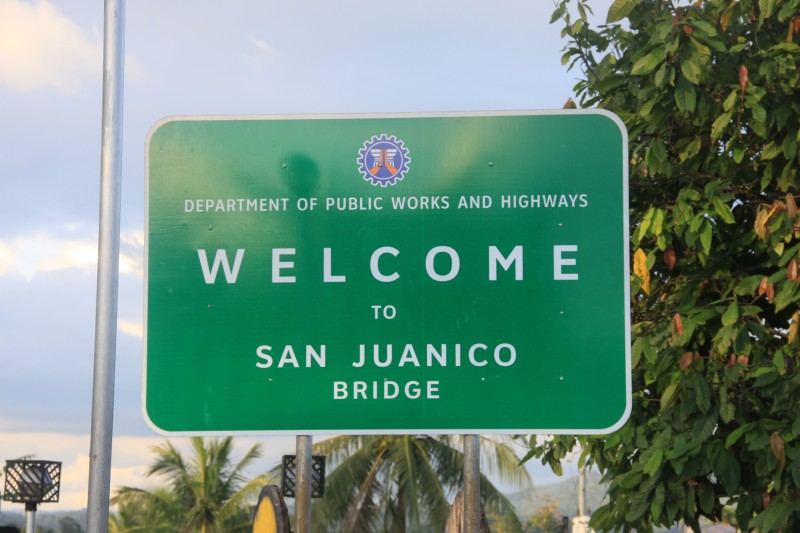 Welcome to San Juanico Bridge