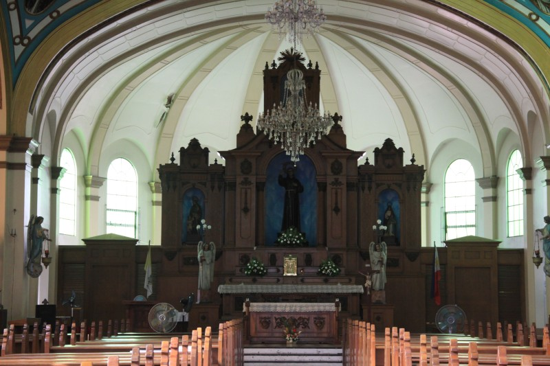 The Altar of San Diego Pro-Cathedral