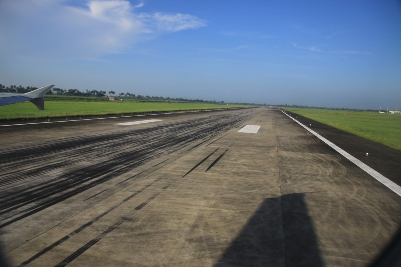 Bacolod-Silay International Airport Runway