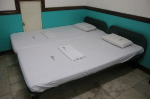 Twin bed at GV Hotel Tacloban