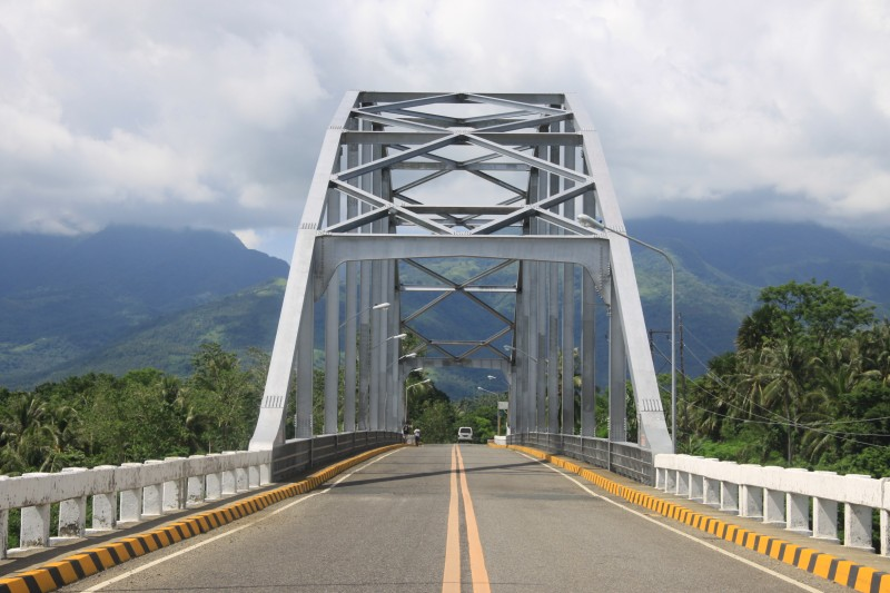 Biliran Bridge Arc seen from Leyte end