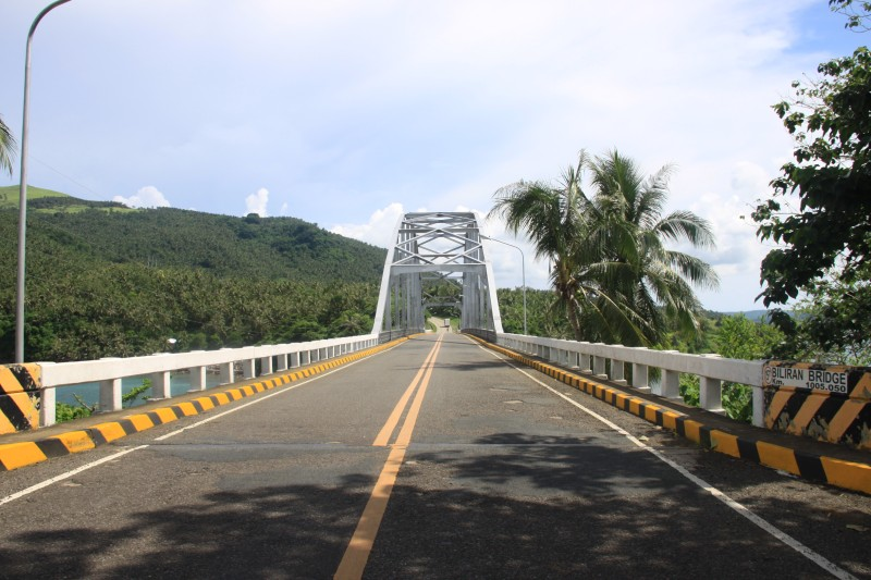 Biliran Bridge seen from Biliran