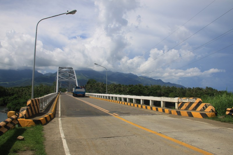 Biliran Bridge seen from Leyte