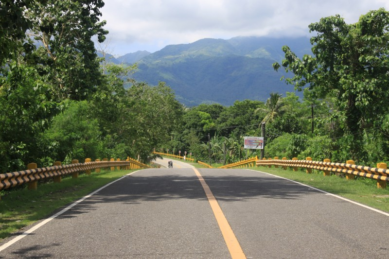 Biliran end of Biliran Bridge