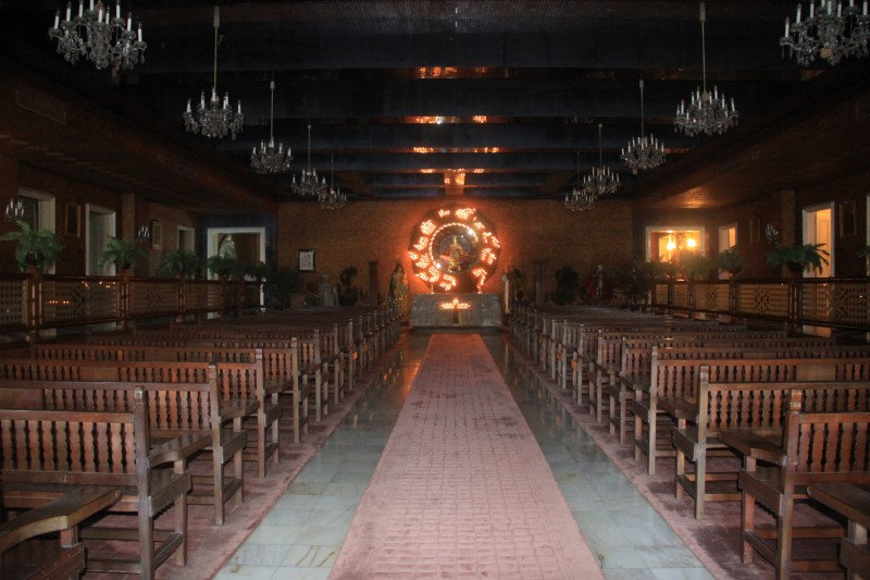 Chapel inside Santo Niño Shrine and Heritage Museum