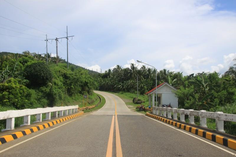 Leyte end of Biliran Bridge