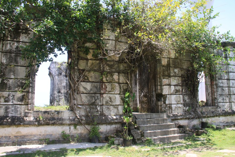 Ruins at Guisi Point Lighthouse