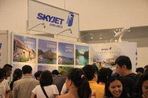 SkyJet at the 24th Philippine Travel Mart