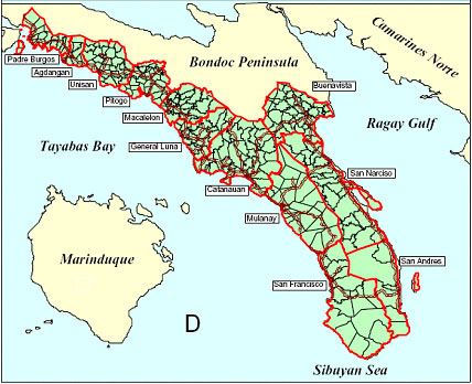 Bondoc Peninsula
