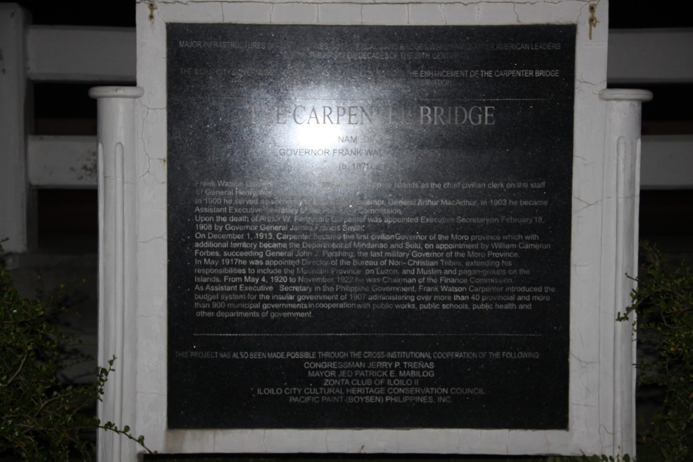 Carpenter Bridge Marker