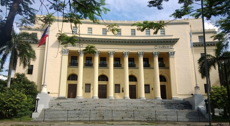 Facade of the Museum of the Filipino People
