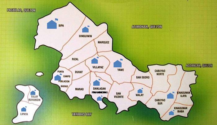 Padre Burgos Map