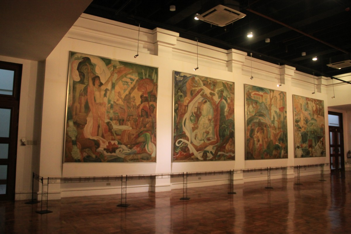 The Progress of Medicine in the Philippines at Gallery X (Museum Foundation of the Philippines Hall)
