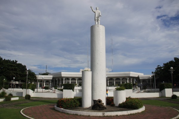 Rizal Monument at Guimbal Public Plaza