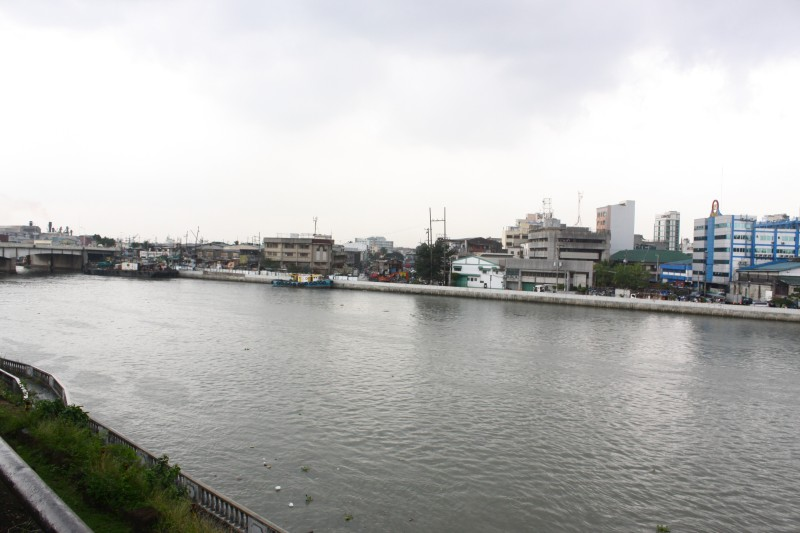Pasig River viewed from Fort Santiago