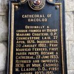 San Sebastian Cathedral NHCP marker