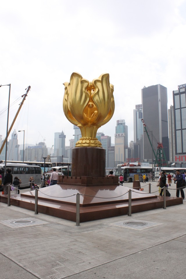 The Golden Bauhinia at the Golden Bauhinia Square
