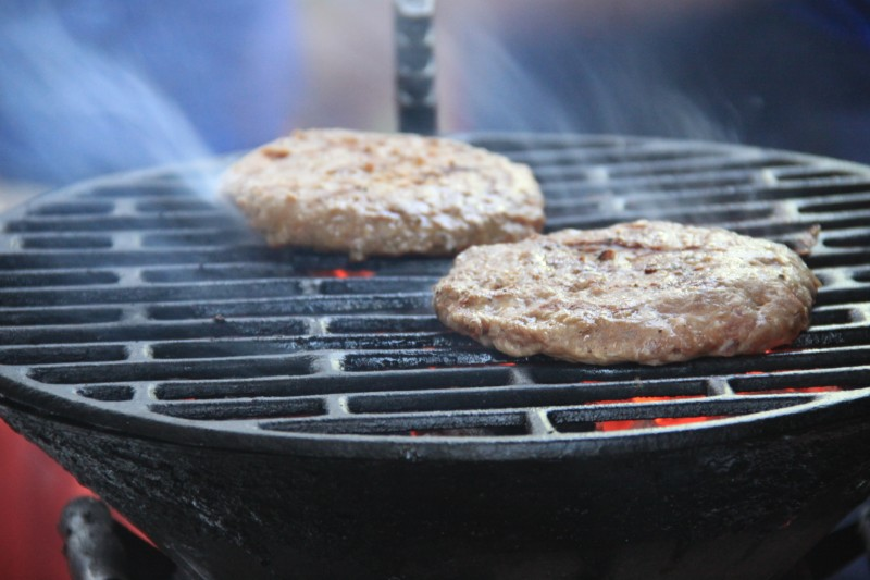 Barbecued Beef Patties