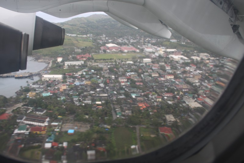 Basco, Batanes as seen from the air