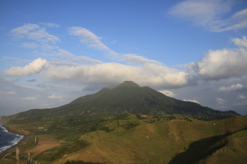 Mount Iraya as seen from Vayang Rolling Hills in San Antonio, Basco, Batanes