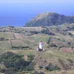 Tayid Lighthouse in Uvoy, Mahatao as seen from Rachu-a-Payaman